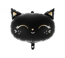 """Folija balons """"Melnais kaķis"""" (48 x 36 cm)"""