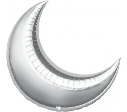 "Folija balons ""Mēness"", sudraba (64x74 cm)"