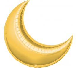 "Folija balons ""Mēness"", zelta (64x74 cm)"