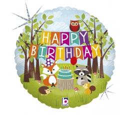 """Folija balons """"Meža dzimšanas diena"""" (46 cm)"""