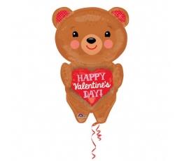 """Folija balons """"Mīlas lācis"""" (45 cm x 71 cm)"""