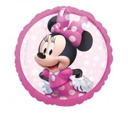 """Folija balons """"Minnie Mouse forever"""", rozā (43 cm)"""