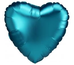 """Folija balons """"Okeāna sirds"""", matēts (43 cm)"""