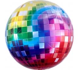 """Folija balons - orbz """"Disco"""" (38 x 40 cm)"""