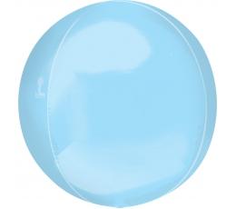 """Folija balons """"Orbz"""", gaiši zils (38 cm)"""