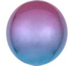 Folija balons-orbz, violeti-zils ombre (38 cm)