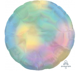 "Folija balons ""Perlamutra aplis"", hologrāfisks (45 cm)"