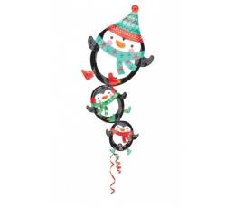 "Folija balons ""Pingvīni"" (66 cm x 88 cm)"