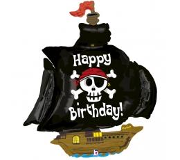 """Folija balons """"Pirātu kuģis"""" (117 cm)"""