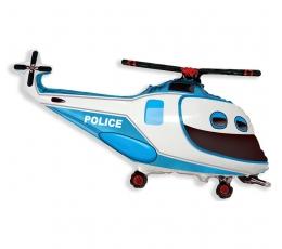 """Folija balons """"Policijas helikopters"""" (60 cm)"""