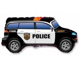 """Folija balons """"Policijas mašīna"""" (60 cm)"""