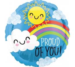 """Folija balons """"Proud of you"""" (43 cm)"""