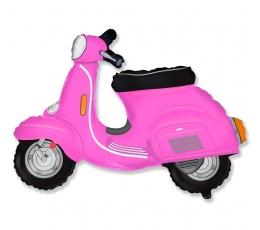 "Folija balons ""Rozā motorollers"" (60 cm)"