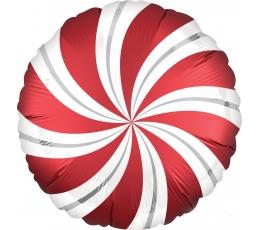 "Folija balons ""Sarkanā konfekte"" (45 cm)"