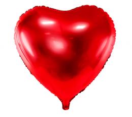 """Folija balons """"Sarkana sirds"""" (45 cm)"""