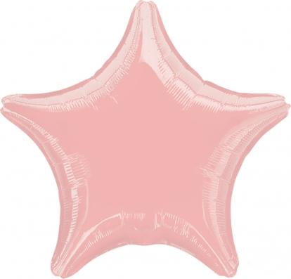 """Folija balons """"Sārta zvaigznīte"""" (45 cm)"""