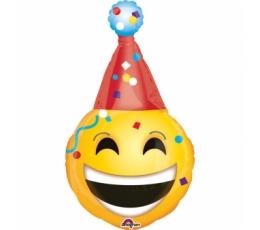 """Folija balons """"Smaidiņš - svētku cepure"""" (55 x 99 cm)"""