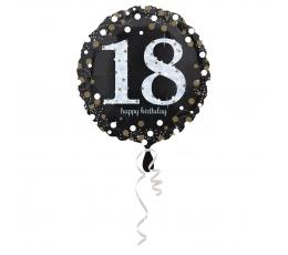 "Folija balons ""Sparkling 18"" (45 cm)"