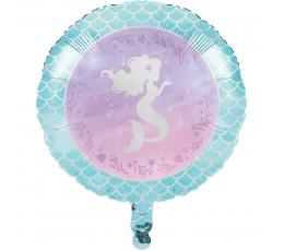 """Folija balons """"Spīdīgā nāriņa"""" (45 cm)"""