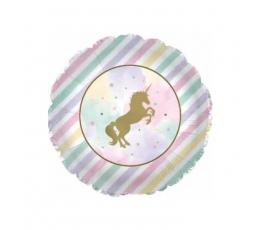 """Folija balons """"Spīdīgais vienradzis"""" (45,7 cm)"""