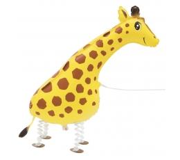 Folija balons, staigājošs žirafes formā (86,3 cm)