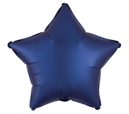 """Folija balons """"Tumši zila zvaigzne"""", matēta (43 cm)"""