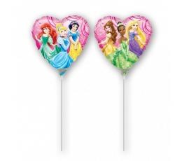 """Folija balons uz nūjiņas """"Priceses""""  (23cm)"""