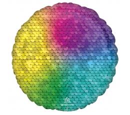 """Folija balons """"Varavīksnes spīdums"""" (43 cm)"""