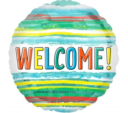 "Folija balons ""Welcome"" (43 cm)"