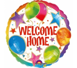"Folija balons ""Welcome Home"" (43 cm)"