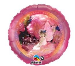 """Folija balons """"Your wishes"""" (46 cm)"""