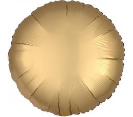 """Folija balons """"Zelta aplis"""", matēts (43 cm)"""