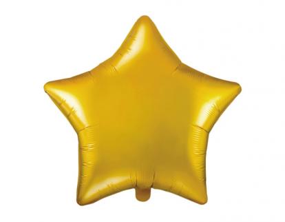 "Folija balons ""Zelta zvaigzne"" (48 cm)"