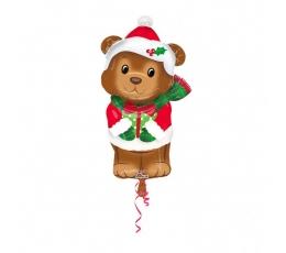 """Folija balons """"Ziemassvētku lāčuks"""" (43 cm x 73 cm)"""