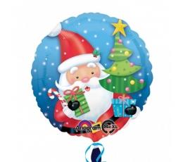 """Folija balons """"Ziemassvētku vecītis"""" (43 cm)"""