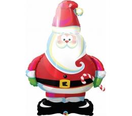 """Folija balons """"Ziemassvētku vecītis"""" (94 cm)"""
