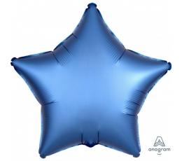 "Folija balons ""Zila zvaigzne"", matēta (48 cm)"