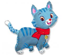 """Folija balons """"Zils kaķis"""" (60 cm)"""