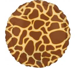 """Folija balons """"Žirafes raksti"""" (43 cm)"""