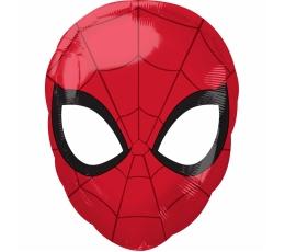 "Folija balons ""Zirnekļcilvēka maska"" (30x43 cm)"