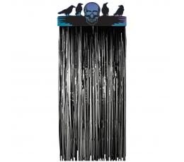 """Folijas aizkari-dekorācija  """"Galvaskauss ar putniem"""""""