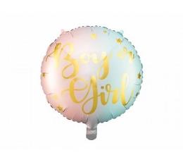 """Folijas balons  """"Boy or Girl"""" (35 cm)"""