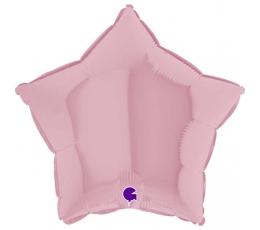 """Folijas balons """"Ceriņkrāsas zvaigzne"""" matēta (46 cm)"""