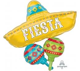 """Folijas balons """"Fiesta"""" (78x81 cm)"""