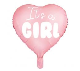 Folijas balons ''It's a girl'' (45 cm)