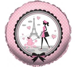 """Folijas balons """"Parīze"""" (45,7 cm)"""