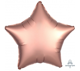 """Folijas balons """"Vara zvaigzne"""", matēta (48 cm)"""