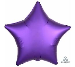 """Folijas balons """"Violeta zvaigzne"""" (43 cm)"""