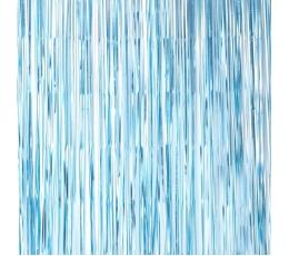 Folija aizkari, gaiši zili  (220x91 cm)