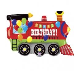"""Follija balons """" Dzimšanas dienas vilcieniņš"""" (94 cm)"""